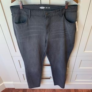 Super Skinny Gray Jeans